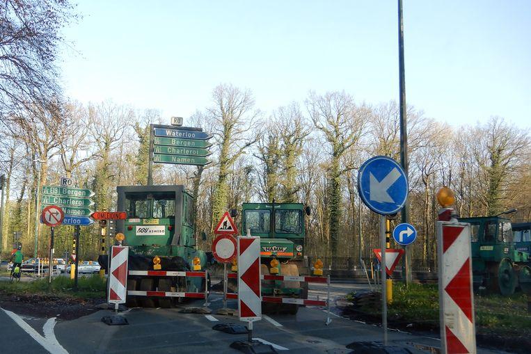 Onderhoudswerken aan de Brusselse binnenring.