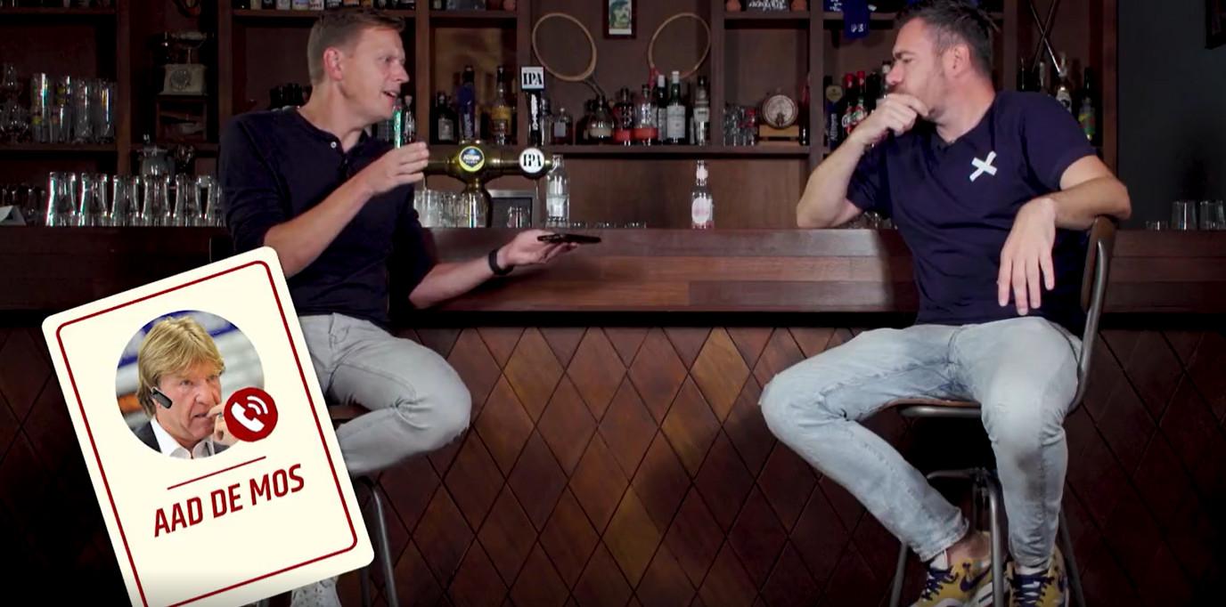 Videostill Bellen met Aad de Mos in Panenka