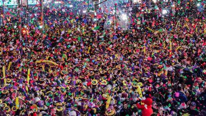 Ook Amerika belandt in 2020: miljoen mensen tellen af op Times Square