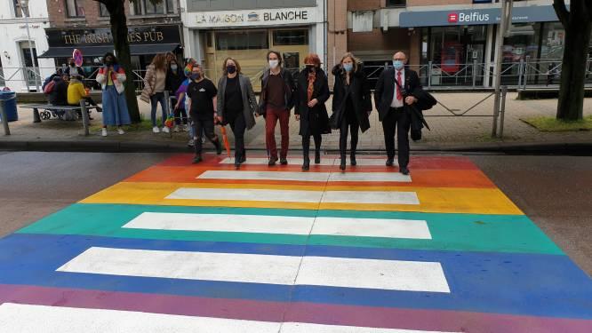 """Charleroi inaugure un passage pour piétons multicolore: """"Quatre événements-phares"""""""
