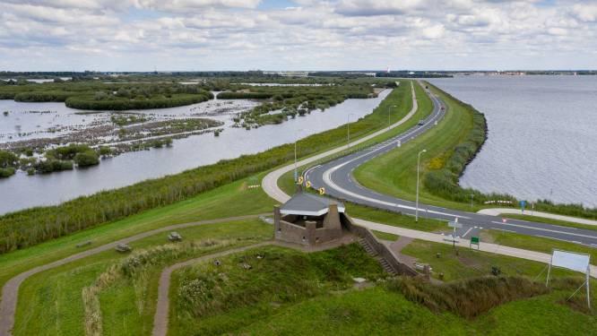 Onderhoud aan N707 Knardijk, verkeer tussen Harderwijk en Zeewolde moet omrijden