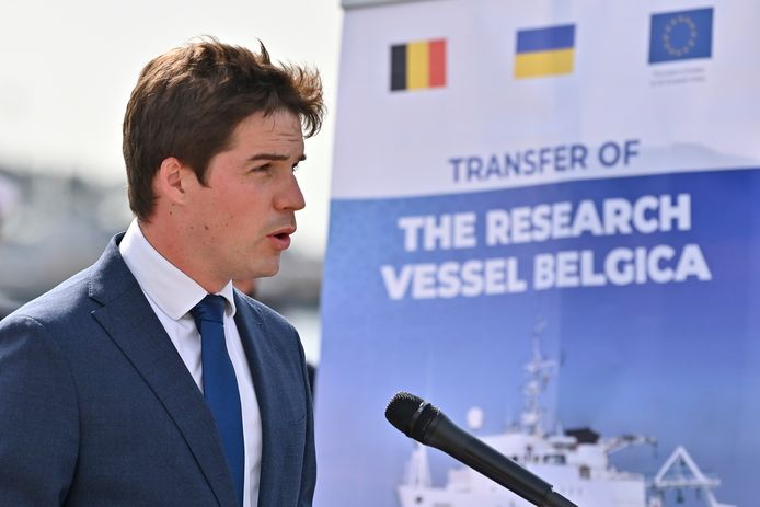 Thomas Dermine (PS), secrétaire d'État à la Relance