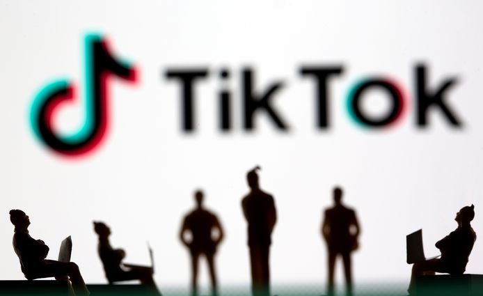 Illustratiebeeld. De kortevideoapp TikTok heeft dit jaar het meeste geld opgebracht, met 920 miljoen dollar in het eerste semester.