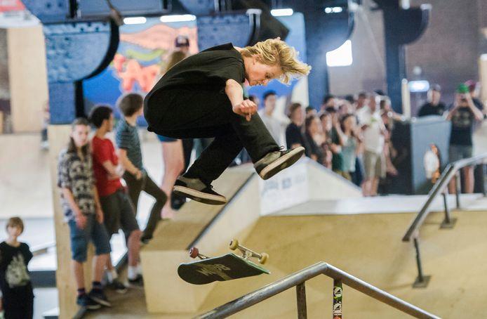 Het World Skate Center in Den Bosch, nu nog aan de Buitendijk.