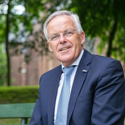 Eppie Klein uit Elburg is directeur van het Sprengen College in Wapenveld.