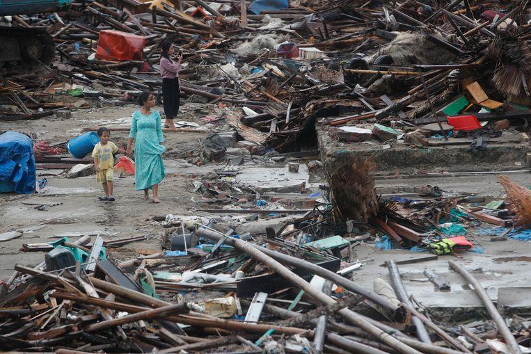 Indonesië werd het afgelopen jaar zwaar geteisterd door natuurrampen.