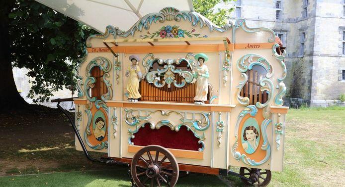 Met dit orgel genaamd Oranjestad zal Lanakenaar Stefan Christoffels aan de wedstijd deelnemen.