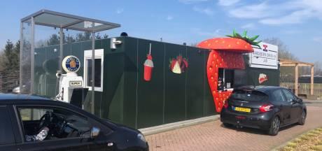 Aardbeien van Jan & Brigitte gaan naar Den Bosch toe