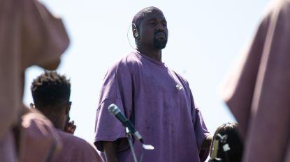Kanye trakteert Coachella op nieuwe muziek tijdens bevreemdende 'sunday service'