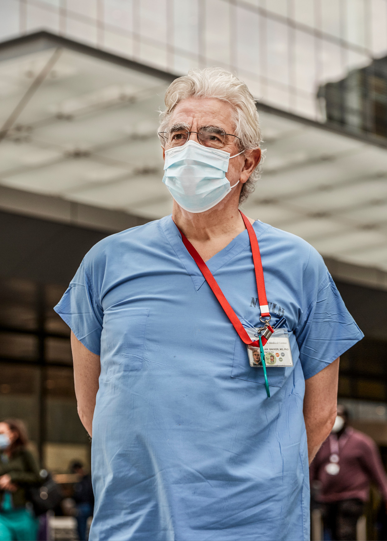 Jan Bakker is ic-arts in New York. Beeld Sergio Avellaneda