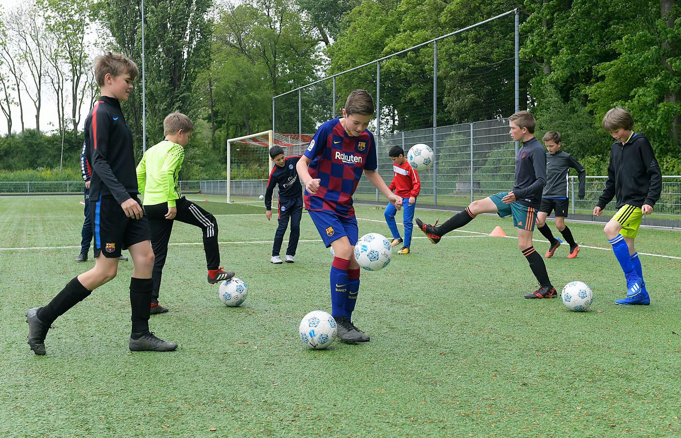 De website 'I want to sport @ Dordt' helpt jongeren een keuze te maken voor een sport. Foto ter illustratie.