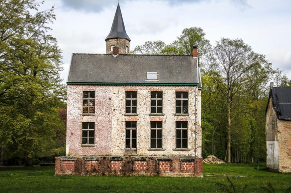 Het kasteel Ryckevelde.