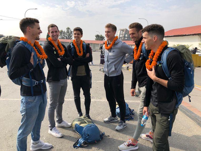 De Belgian Tornados zijn inmiddels gearriveerd in Kathmandu.