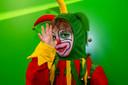 20210212 - BERGEN OP ZOOM  - Pix4Profs/Tonny Presser -   Jules uit groep 1/2 - Op basisschool De Aanloop gaan kinderen aan de slag met het kindervastenavendboekje. Kinderen komen verkleed naar school.