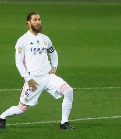 Le capitaine du Real Madrid Sergio Ramos positif à la Covid-19