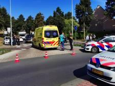 Scooterrijder in botsing met auto in Ede, twee gewonden