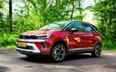 Modern van buiten, behoudend van binnen: de Opel Crossland gaat al een tijdje mee.