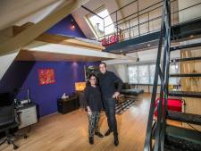 Ad en Anne trokken twee woningen bij elkaar en maakten met staal een ruimtelijk geheel