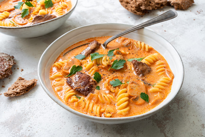 Stroganoff-soep