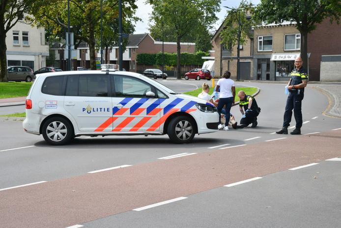 Ongeluk op de kruising Mastbosstraat - Dreef in Breda.