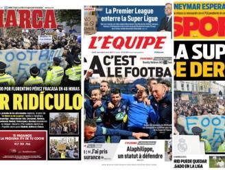 """""""Superbelachelijk"""": ook de covers van de grootste sportkranten liegen er niet om, Italiaans blad pijnlijk de mist in"""
