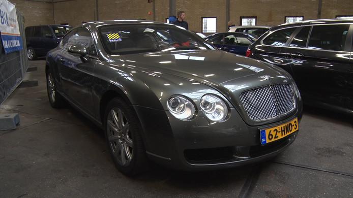 Een Bentley Continental. Foto ter illustratie.
