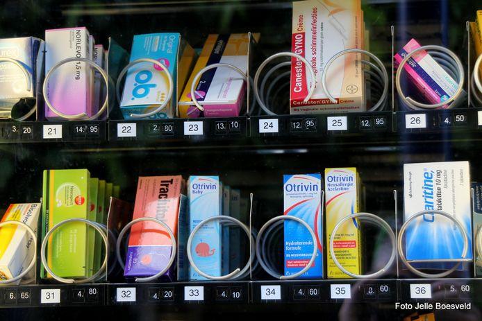 Geen snoep maar medicijnen in de automaat
