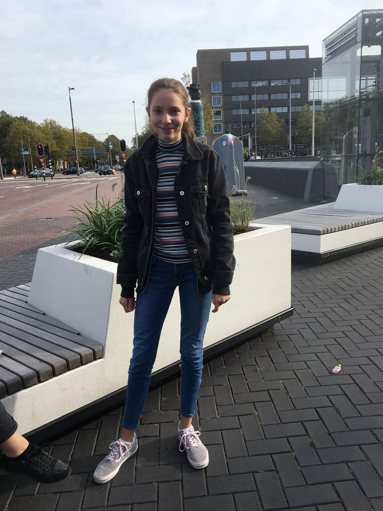 Yuna is uit België gekomen Beeld Raounak Khaddari