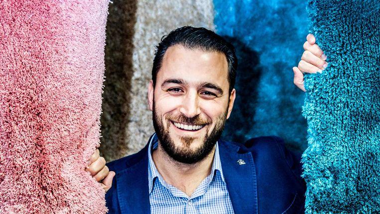 Mustafa Aslan, secretaris van de Unie van Europees-Turkse Democraten in Nederland (UETD) Beeld Aurélie Geurts