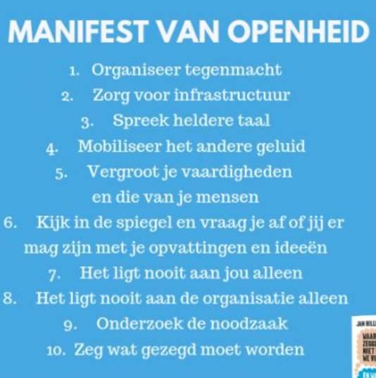 Het Manifest van Openheid