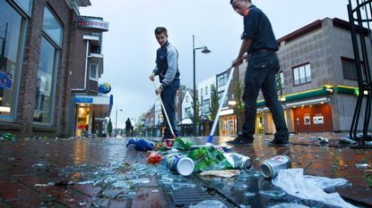 Inwoners Haren beginnen aan schoonmaakactie