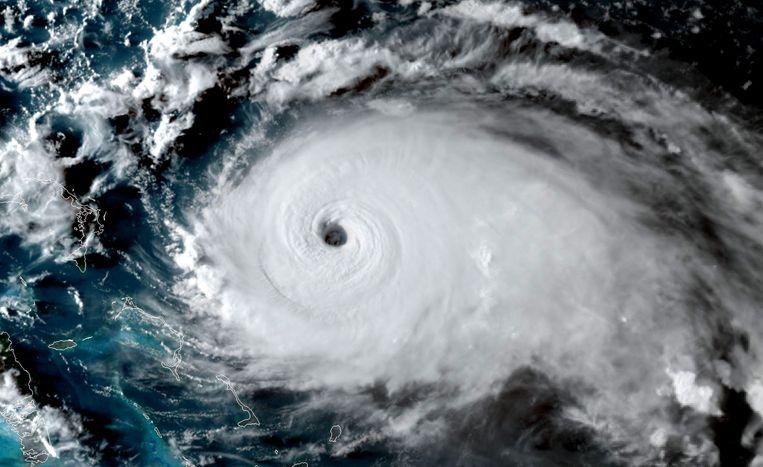 Orkaan Dorian nadert de Bahama's en Florida. Beeld AFP