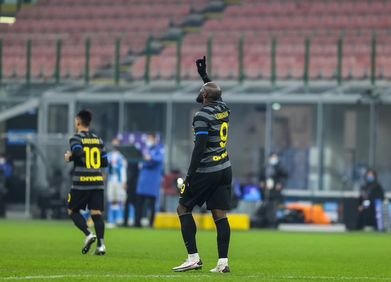 Romelu Lukaku co-meilleur buteur de Serie A, l'Inter à un point du leader.