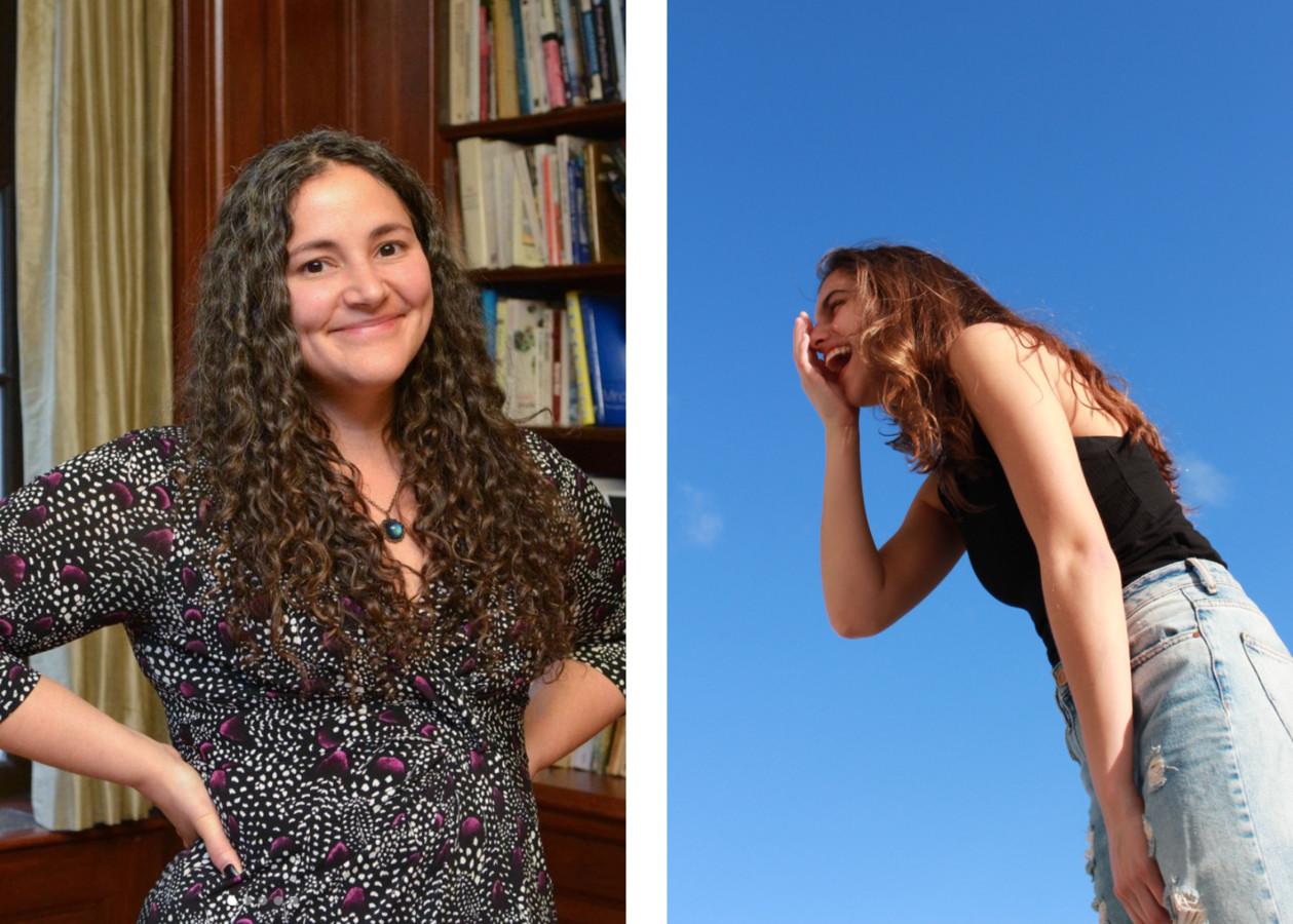 Links: 'geluksprofessor' Laurie Santos van Yale University.