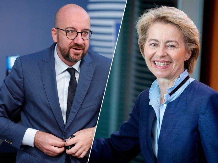 Charles Michel wordt de nieuwe Europese president, de Duitse Ursula von der Leyen de nieuwe Commissievoorzitter.
