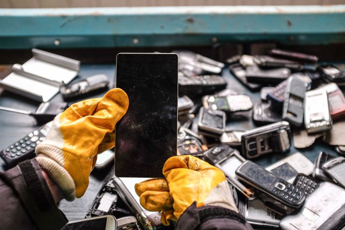 Foto ter illustratie: Electronics Recycling