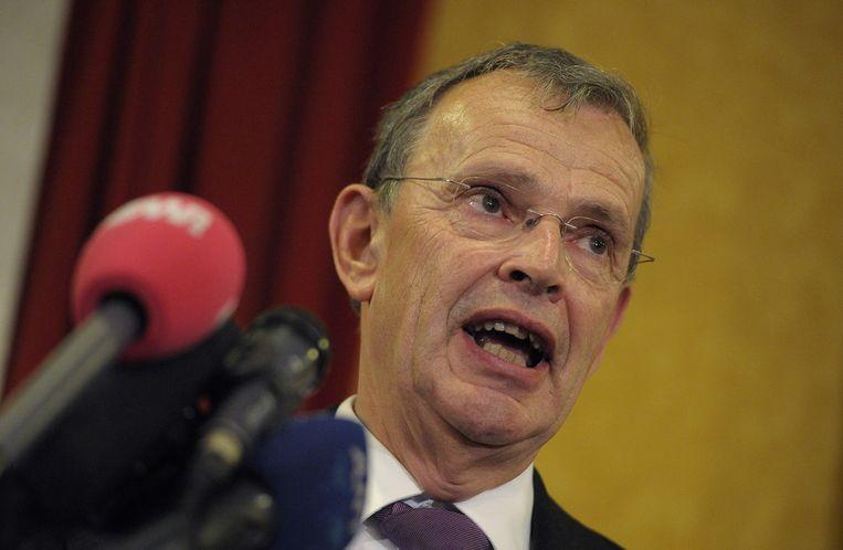 PVV-gedeputeerde Theo Krebber. Beeld ANP