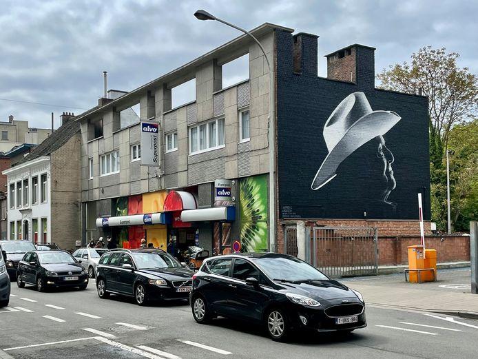 De muurschildering van Bobbejaan Schoepen in Boom