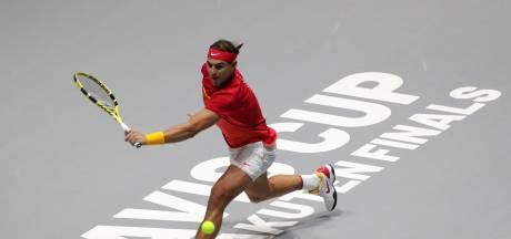 """Nadal critique les horaires très tardifs de la Coupe Davis: """"Ça rend les choses difficiles pour nous"""""""