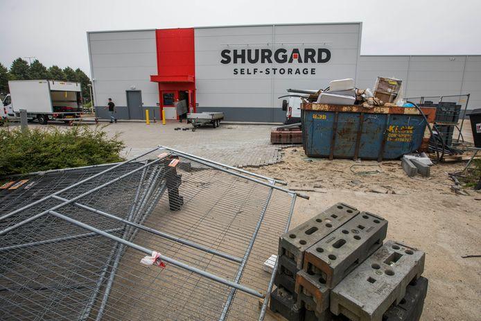 Nieuwbouw Shurgard Self Storage is opgeleverd.