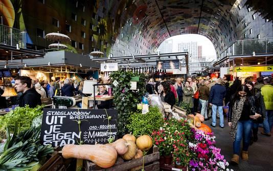De Pier krijgt de sfeer van de Rotterdamse Markthal