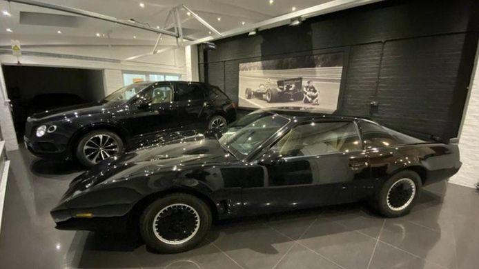 De omgebouwde Pontiac van Hasselhoff