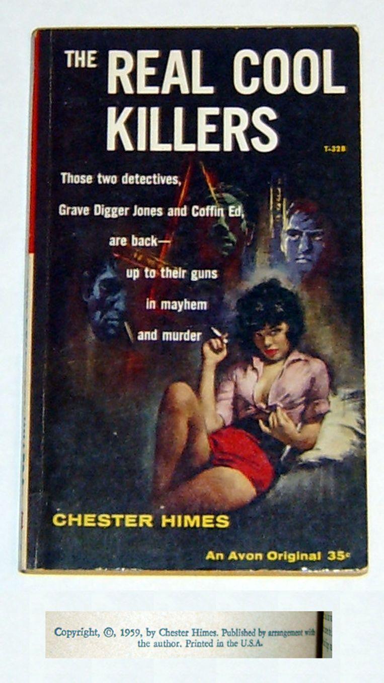 Chester Himes: Real Cool Killers. Avon, 1959. Omslagillustratie George Ziel. Beeld Avon