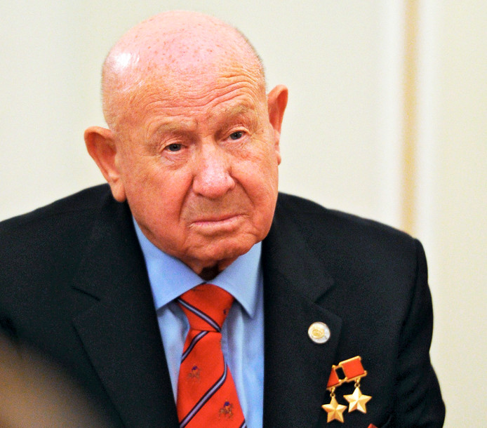 Aleksej Leonov op een foto uit 2013.