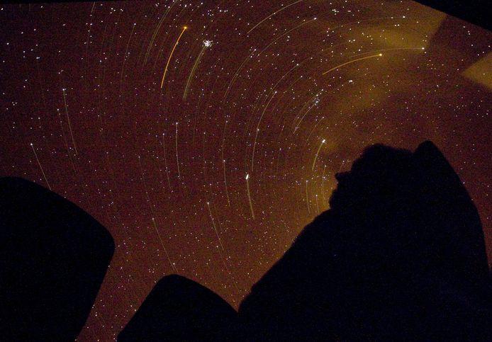 Vannacht is er weer kans om vallende sterren te zien. Foto ter illustratie.