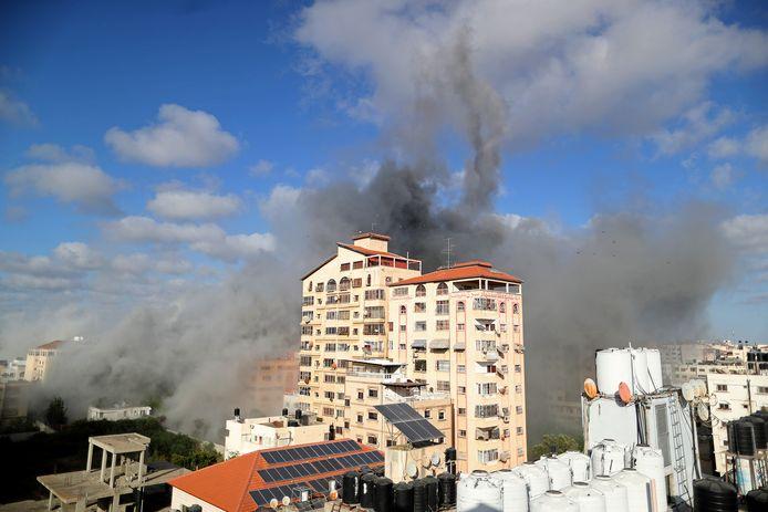 De Gazastrook wordt ook vandaag onder vuur genomen.