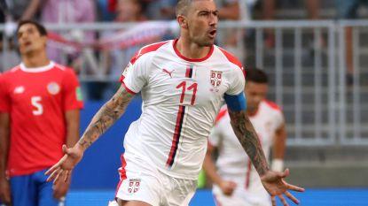 Gouden linker Kolarov bezorgt Servië zege tegen onmachtig Costa Rica