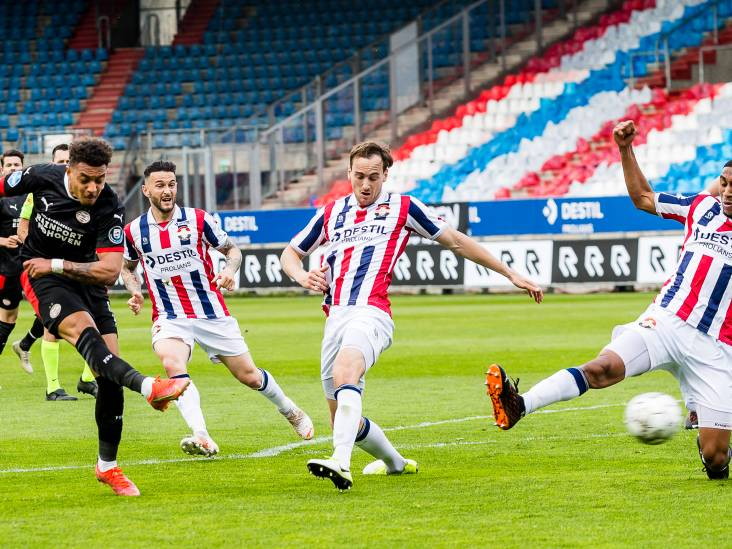 LIVE | PSV leidt halverwege tegen Willem II: Malen scoorde na balverlies Heerkens