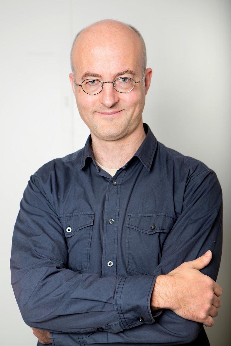 Olaf Tempelman is redacteur van de Volkskrant. Beeld Najib Nafid