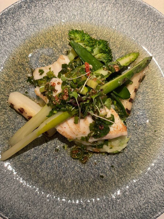Un plat principal qui fait la part belle à la simplicité et aux produits de la région.